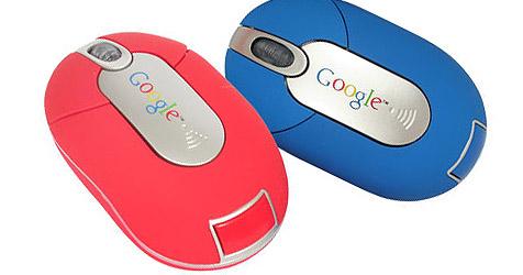Umweltfreundliche Funk-Maus von Google (Bild: Google)