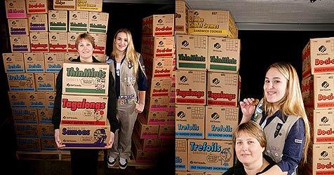 US-Pfadfinderin verkauft über 17.000 Keks-Boxen