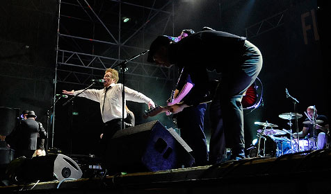 Flogging Molly live in Wien (Bild: Andreas Graf)
