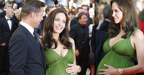 Jolie-Bauch begeistert Cannes