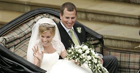 Das erste Enkelkind der Queen hat geheiratet
