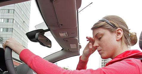 Intelligente Matten sollen müde Autofahrer wecken (Bild: Klemens Groh)