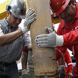 US-Amerikaner bohrt selbst nach Öl