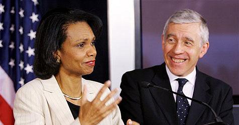 Condoleezza Rice musste auf dem Boden schlafen