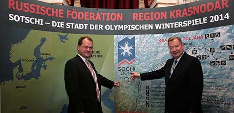 Oberösterreich punktet bei Olympia in Sotschi (Bild: Wetzlsberger)
