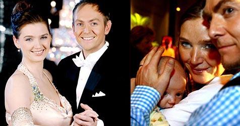 Zabine und Alexander haben geheiratet (Bild: ORF/Ali Schafler, APA/Harald Schneider)