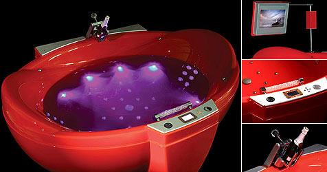Der Ferrari unter den Badewannen (Bild: Water Games Technologies)