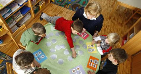 Kindergartenpflicht ab Herbst in  Niederösterreich (Bild: APA/HARALD SCHNEIDER)