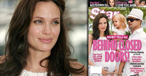 """Nanny packt über """"Zustände"""" bei Jolie-Pitts aus (Bild: AP Photo, Cover Star)"""