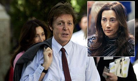 Paul McCartney zeigt seiner neuen Liebe London