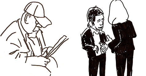 Künstler möchte jeden New Yorker zeichnen (Bild: Everypersoninnewyork)