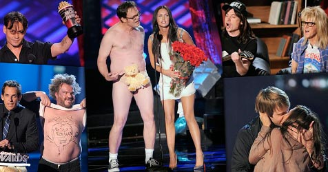 Die besten Bilder der MTV Movie Awards 2008