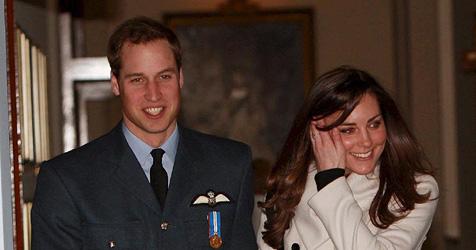 William mit Freundin Kate auf Urlaub in Schottland