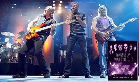 """Deep Purple auf 4 DVDs: """"Around The World Live"""""""