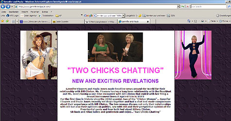 Sex-Geister aus der Vergangenheit holen Bill ein (Bild: Screenshot GenniferandPaula.com)