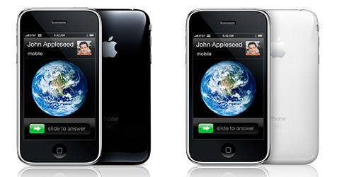 Zweite iPhone-Generation mit UMTS vorgestellt