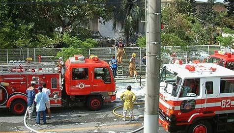 Feuerwache-Koch steckt eigenes Depot in Brand