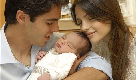 Fußballstar Kaka ist stolzer Vater geworden