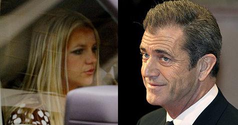 Mel Gibson coacht Britney Spears