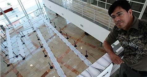 Mexikaner erstellt weltgrößte Bleistiftzeichnung