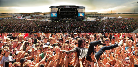 Nova Rock hofft 2011 auf Besucher Nummer 1.000.000