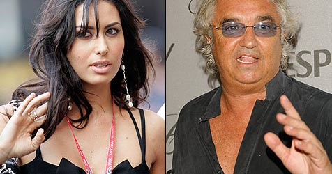 Flavio Briatore heiratet italienisches Showgirl