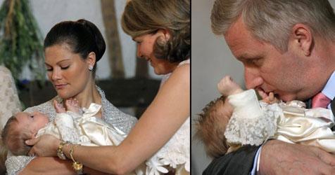 Jüngste belgische Prinzessin Eléonore getauft