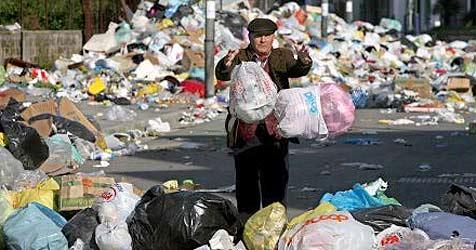 650 Kilogramm Abfall fallen pro Jahr und Kopf an