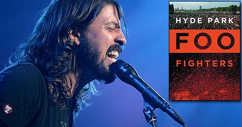 Die Foo Fighters im Londoner Hyde Park