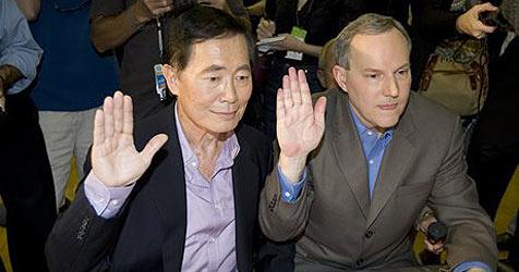 """George """"Sulu"""" Takei holte sich Heiratserlaubnis"""