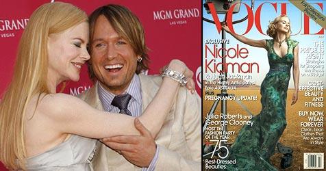 Kidman wegen Ultraschallbild zu Tränen gerührt (Bild: AP Photo, Cover Vogue)