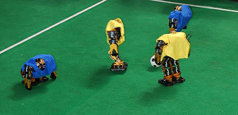 Österreich Vizeweltmeister im Roboterfußball (Bild: Sam Coniglio)