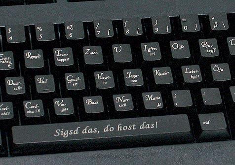 Die Tastatur für Österreicher (Bild: Cherry)