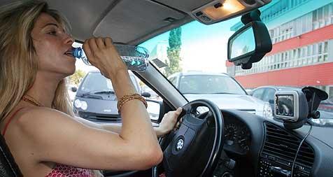Hitzegeplagte Fahrer reagieren wie Betrunkene (Bild: Martin A. Jöchl)
