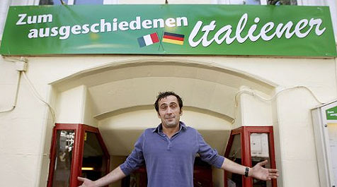 Nach EM-Aus: Italiener muss Lokal-Namen ändern