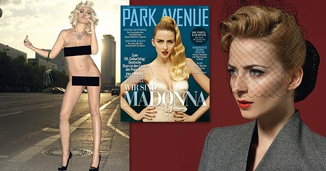Prominente posieren erotisch als Madonna (Bild: Joachim Baldauf für PARK AVENUE)
