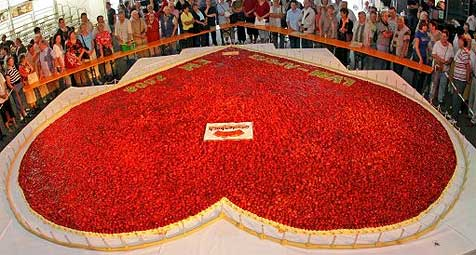 Das ist der größte Kuchen Deutschlands!