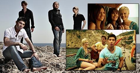 Heidis Topmodels retten Marquess aus der Seenot