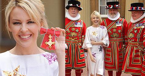 Britischer Ritterorden für Kylie Minogue