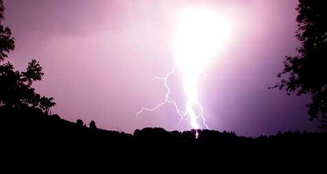 Juli-Landes-Rekord mit 18.000 Blitzen! (Bild: Sepp Pail)