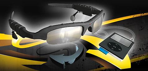 Brille mit Videokamera für Sportler und Spione (Bild: Eagle-i)