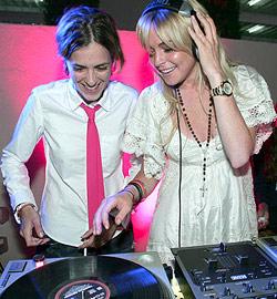 Lindsay Lohan & Sam Ronson: Treffen der Mütter
