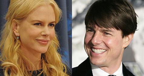Tom Cruise überhäuft Nicole Kidman mit Blumen