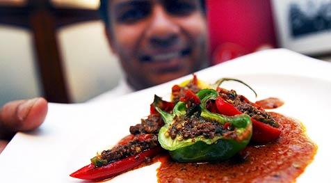 Schärfstes Curry der Welt in London gekocht