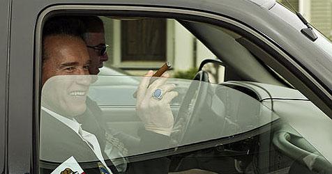 Anti-Rauch-Kampagne mit Zigarren-Fan Arnie