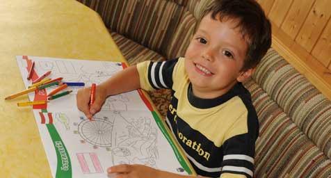 ÖVP-Wahlkampf beginnt schon im Kindergarten (Bild: ooe Markovsky)