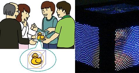 3D-Klon soll Familienfotos ersetzen (Bild: nict.go.jp)