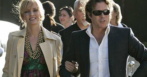 Uma Thurman löst Verlobung mit Schweizer Millionär