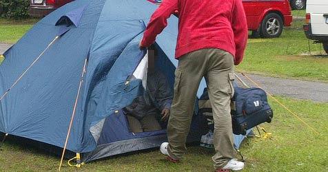 Bande bestiehlt Camping-Gäste in Klosterneuburg (Bild: Klaus Kreuzer)