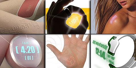 Die Uhr der Zukunft (Bild: core77.com/timex)